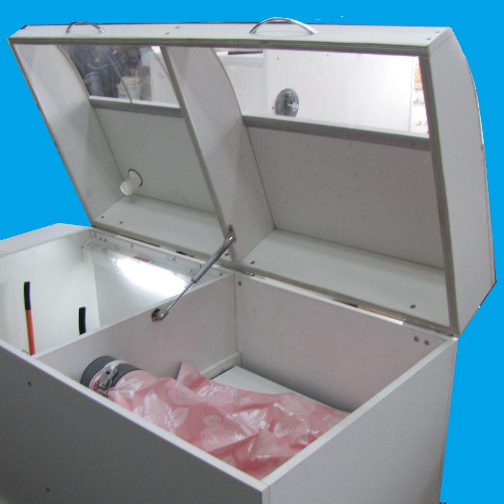 №19576 Оборудование для производства изделий из пуха.