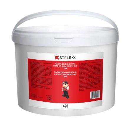 №20499 Паста для рук (стружка) STELS-X 420 (10 литров)