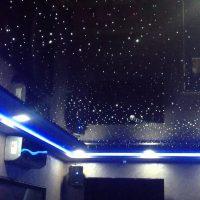 №21315 Натяжной потолок с звёздным небом