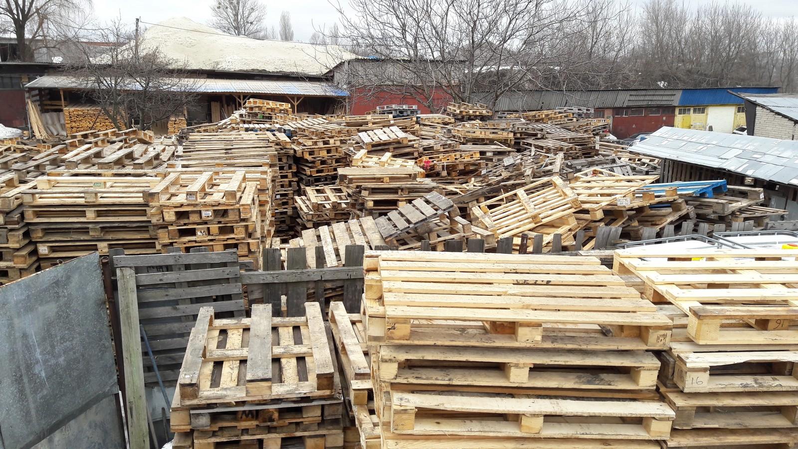 №21728 Европоддоны деревянные, пластиковые. Евротара-Харьков