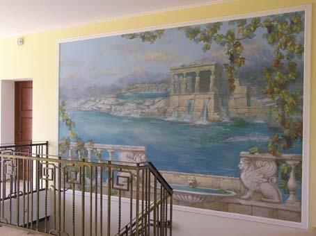 №21657 Профессиональное декорирование стен под заказ в Киеве и Украине