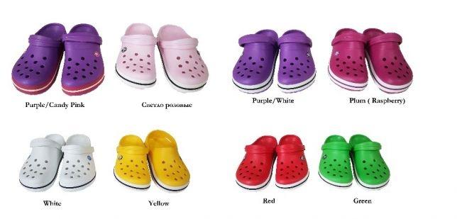 №22268 Кроксы Crocs Crocband разных цветов в наличии! Распродажа!