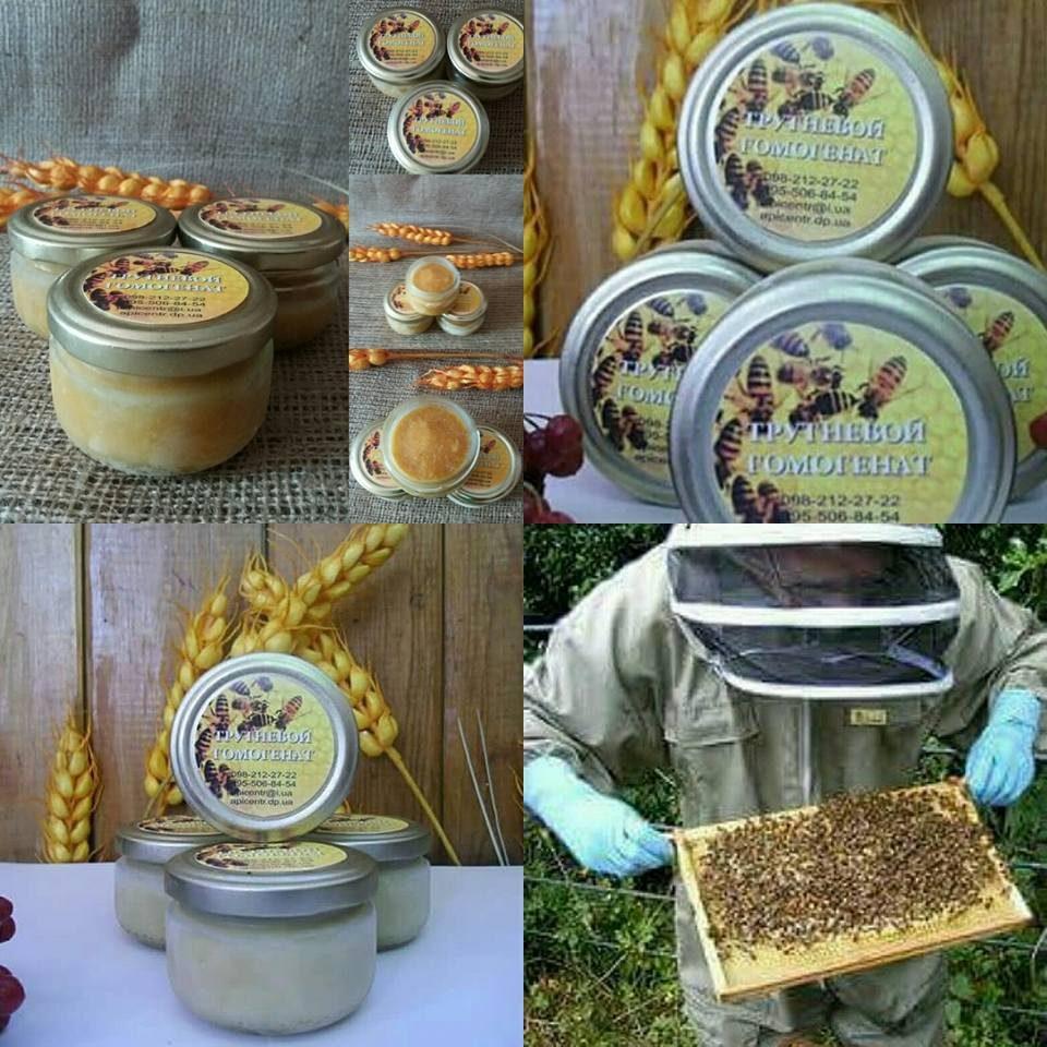 №22304 Трутнёвый Гомогенат (пчелиный)