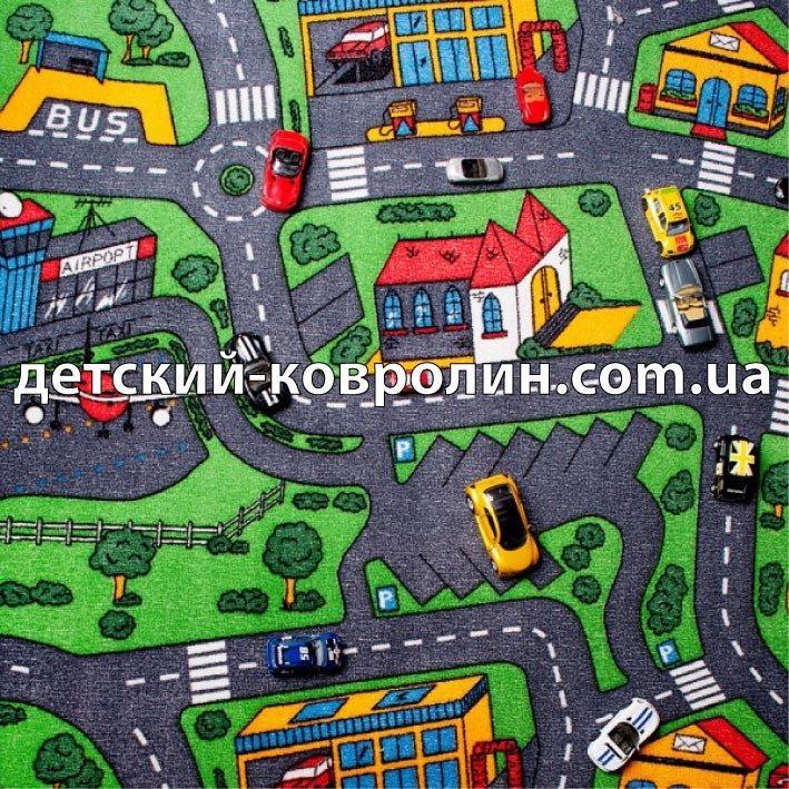 №24133 Детский ковролин. Ковры детские. Коллекция City Life