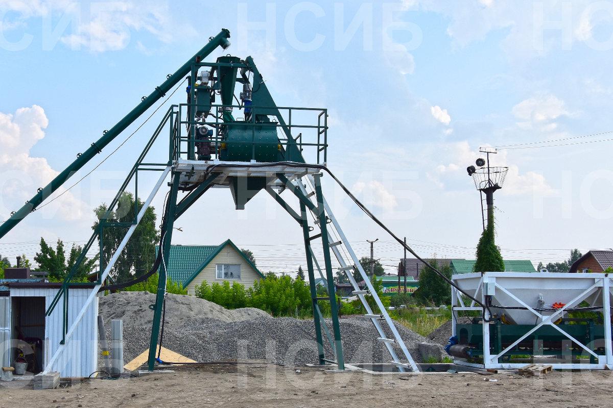 №24264 Оборудование для бетонных заводов (РБУ). Бетонные заводы. НСИБ