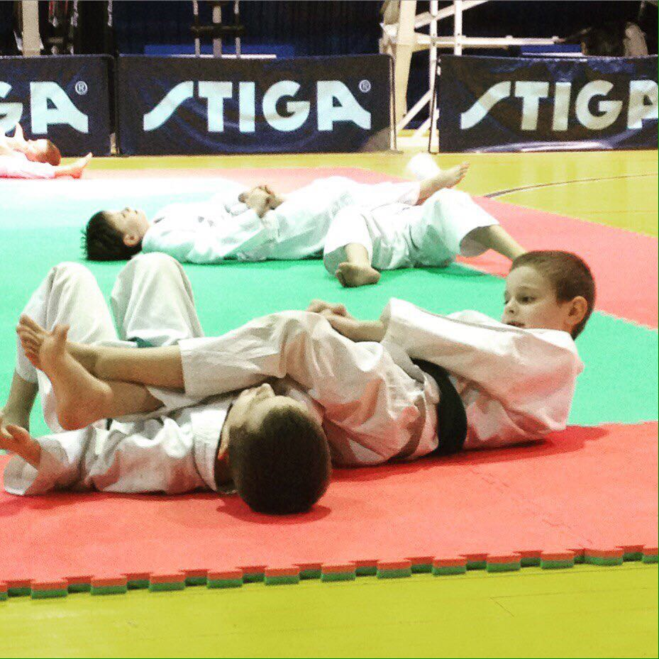 №24114 Спортивная секция каратэ фитнес для детей Ростов Плевен Универсам