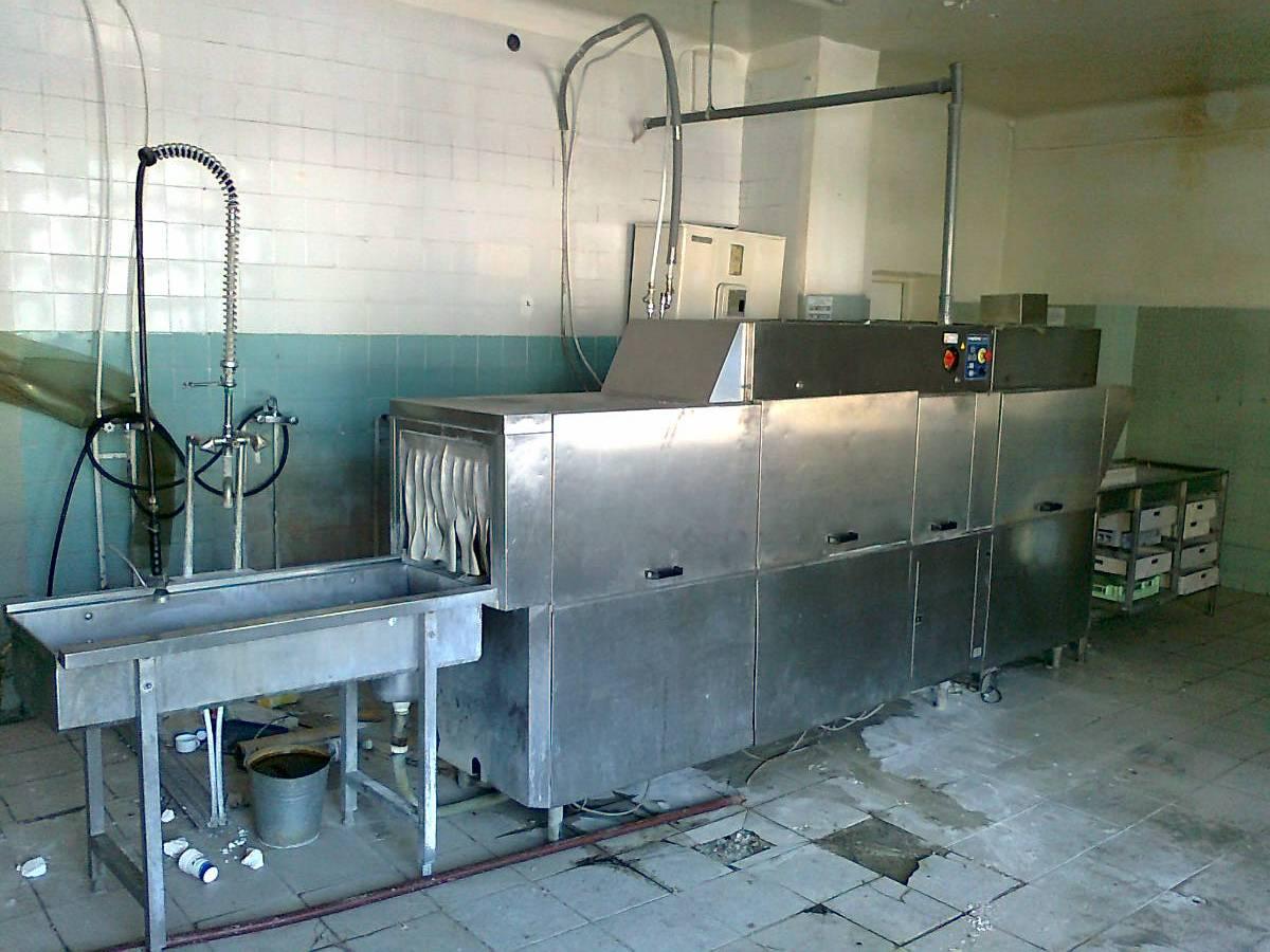 №24642 Тоннельная посудомоечная машина бу