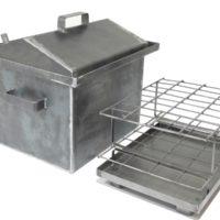 Коптильня горячего копчения 2 мм (400х310х300 мм)