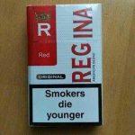 Оптовая продажа сигарет REGINА красная,синяя - 220$