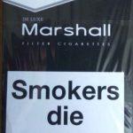 Сигареты Marchall красный,синий,чёрный, оптом-230$!